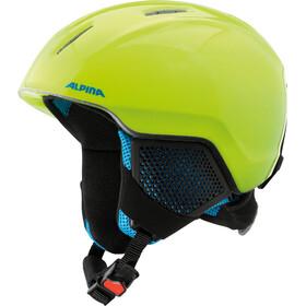Alpina Carat LX Ski Helmet Kids neon-yellow